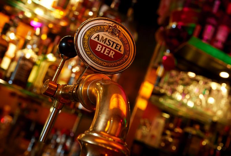 De Balustrade Amstel bier
